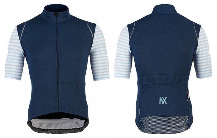 Caf Du Cycliste Men s Monique Jersey -Navy 51b7598f8